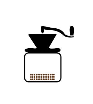 Kaffeepulver einfuellen