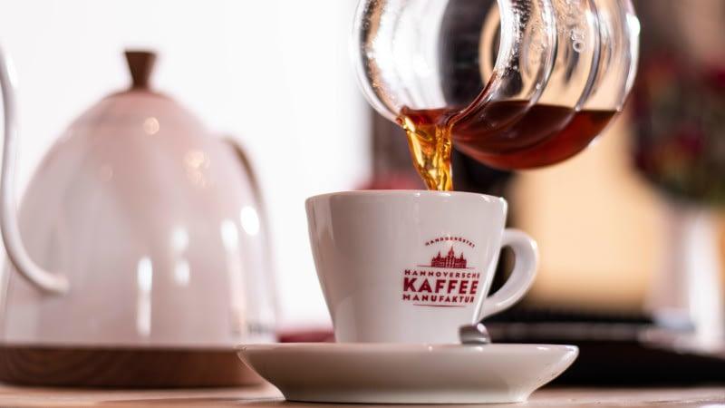 Gabi Dripper Kaffee genießen