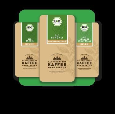 Probierpaket Bio-Kaffees