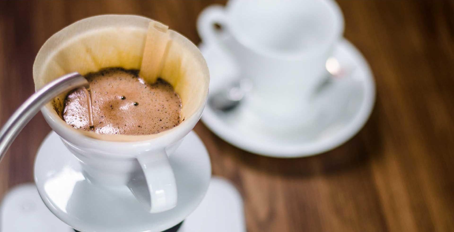 Handfilter Kaffee genießen