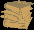 Kaffee Bücher Zubehör