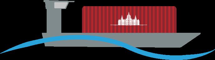 Kaffee Transport Schiff Container