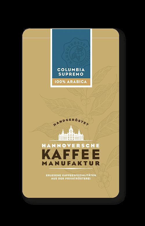 Columbia Supremo Kaffee