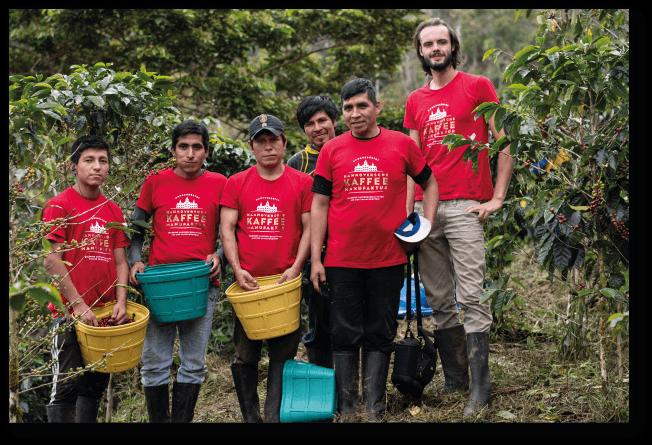 Hannoversche Kaffeemanufaktur in Peru